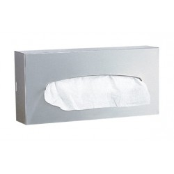 Bobrick B-8397 Surface-Mounted 100-Facial Tissue Dispenser
