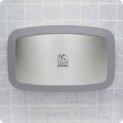 Koala KB200-SS Horizontal, Wall-Mounted Baby Changing Station Stainless Steel