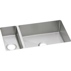 Elkay EFRU3219 Avado Stainless Steel Double Bowl Undermount Sink