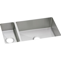 Elkay EFRU321910 Avado Stainless Steel Double Bowl Undermount Sink