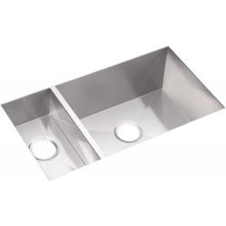 Elkay EFU321910 Avado Stainless Steel Double Bowl Undermount Sink