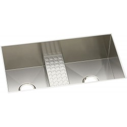 Elkay EFULB331810CDB Avado Stainless Steel Double Bowl Undermount Sink