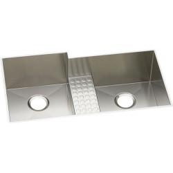 Elkay EFULB361810CDBR Avado Stainless Steel Double Bowl Undermount Sink