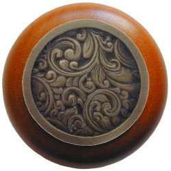 Notting Hill NHW-759 Saddleworth Wood Knob 1-1/2 diameter