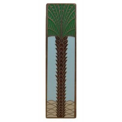 Notting Hill NHP-322 Royal Palm (Vertical) Pull 4 x 1