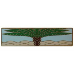 Notting Hill NHP-323 Royal Palm (Horizontal) Pull 4 x 1