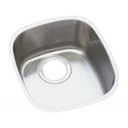 Elkay ELUH1113DBG Harmony (Lustertone) Stainless Steel Single Bowl Undermount Sink Kit