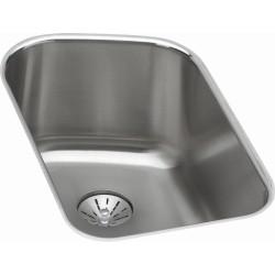 Elkay ELUH11189PD Harmony (Lustertone) Stainless Steel Single Bowl Undermount Sink Kit