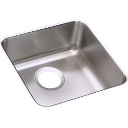 Elkay ELUH1212 Gourmet (Lustertone) Stainless Steel Single Bowl Undermount Sink