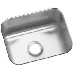 Elkay ELUH129DBG Gourmet (Lustertone) Stainless Steel Single Bowl Undermount Bar Sink Kit