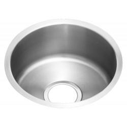 Elkay ELUH12FB The Mystic (Lustertone) Stainless Steel Single Bowl Undermount Sink