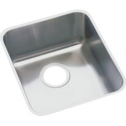 Elkay ELUH1316DBG Gourmet (Lustertone) Stainless Steel Single Bowl Undermount Sink Kit