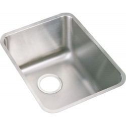 Elkay ELUH141810DBG Gourmet (Lustertone) Stainless Steel Single Bowl Undermount Sink Kit