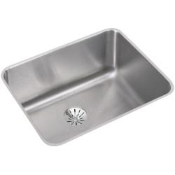 Elkay ELUH211510PDBG Gourmet (Lustertone) Stainless Steel Single Bowl Undermount Sink Kit