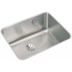 Elkay ELUH211510PDK Gourmet (Lustertone) Stainless Steel Single Bowl Undermount Sink Kit