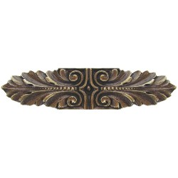 Notting Hill NHP-625 Opulent Scroll Pull 3-3/4 x 7/8