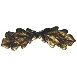 Notting Hill NHP-644 Oak Leaf Pull 4 x 1-1/4