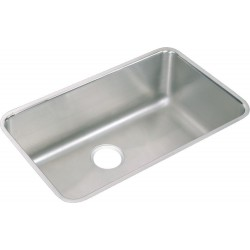 Elkay ELUH281612 Gourmet (Lustertone) Stainless Steel Single Bowl Undermount Sink