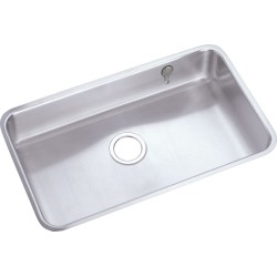 Elkay ELUH2816EK Gourmet (Lustertone) Stainless Steel Single Bowl Undermount Sink Kit