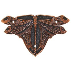 Notting Hill NHH-907 Dragonfly (sold in pairs) Hinge Plate Set 1-1/2 w x 2-1/2 h