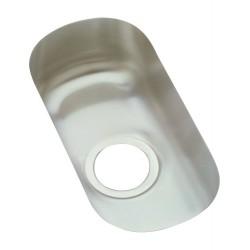 Elkay ELUH715 Harmony (Lustertone) Stainless Steel Single Bowl Undermount Sink