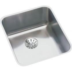 Elkay ELUHAD131655PD Gourmet (Lustertone) Stainless Steel Single Bowl Undermount Sink Kit