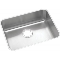Elkay ELUHAD211555 Gourmet (Lustertone) Stainless Steel Single Bowl Undermount Sink