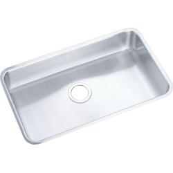 Elkay ELUHAD281645 Gourmet (Lustertone) Stainless Steel Single Bowl Undermount Sink