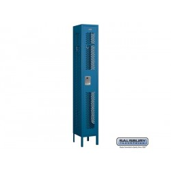 Salsbury Assembled Vented Metal Locker One Wide