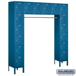Salsbury Assembled Box Style Bridge Metal Locker