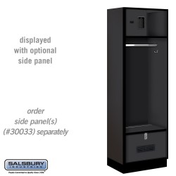 Salsbury Open Access Designer Wood Locker - 18 Inches Deep