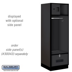Salsbury Open Access Designer Wood Locker - 24 Inches Deep
