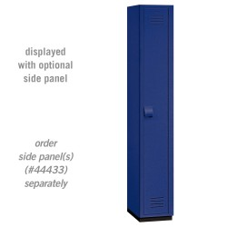 Salsbury Heavy Duty Plastic Locker - Single Tier - 1 Wide - 6 Feet High - 18 Inches Deep