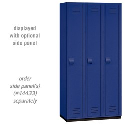 Salsbury Heavy Duty Plastic Locker - Single Tier - 3 Wide - 6 Feet High - 18 Inches Deep