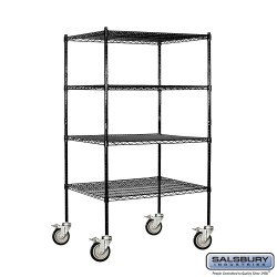 Salsbury Wire Shelving - 36 Inches Wide - 24 Inches Deep