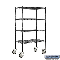 Salsbury Wire Shelving - 36 Inches Wide - 18 Inches Deep