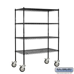 Salsbury Wire Shelving - 48 Inches Wide - 18 Inches Deep