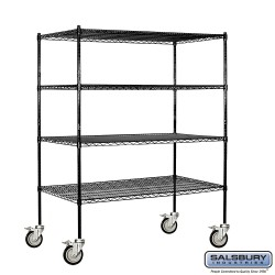 Salsbury Wire Shelving - 60 Inches Wide - 24 Inches Deep