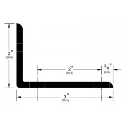 Pemko 2812KIT Side Wall Track Bracket for Bypass Track series