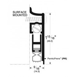 Pemko 412_PKL Automatic Door Bottoms