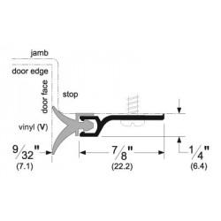 Pemko 294 Standard Perimeter Gasketing with Vinyl Insert