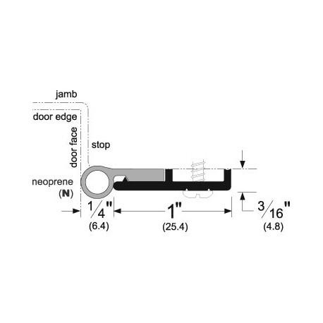 sc 1 st  AmericanBuildersOutlet.com & Pemko 319 Standard Perimeter Gasketing