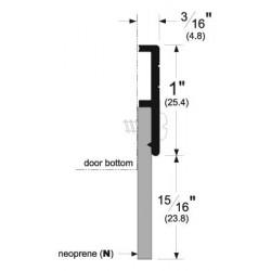 """Pemko 321_N Door Bottom Sweeps 36"""""""