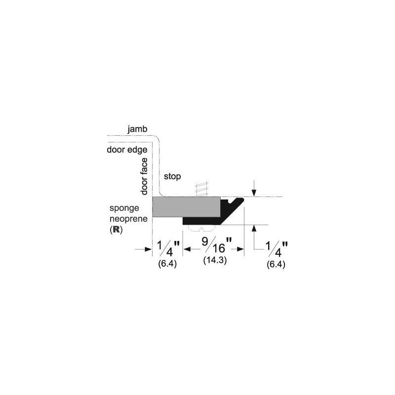 Pemko 332 Standard Perimeter Gasketing