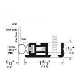Pemko 379 Adjustable Jamb Weatherstrip