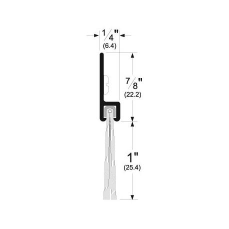 Pemko 18100_NB Brush / Door Bottom Application 48