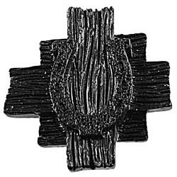 Sierra 6811 Horseshoe Knob - Black
