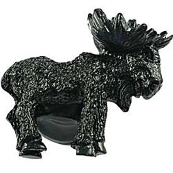 Sierra 6812 Realistic Moose Knob - Right Facing - Black