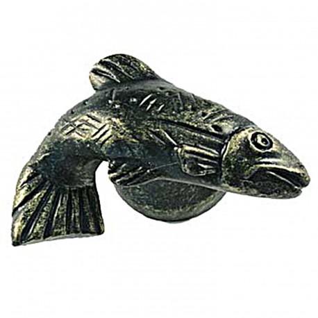 Sierra 6812 Fish Knob - Right Facing - Bronzed Black