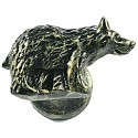 Sierra 6812 Bear Knob - Right Facing - Bronzed Black